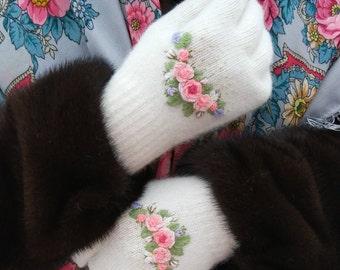 WR1 Winter rose gloves