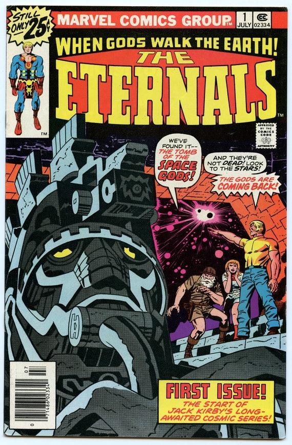 Eternals 1 Jul 1976 VF+ (8.5)