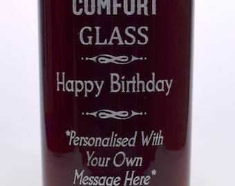 Engraved/Personalised BIRTHDAY SOUTHERN COMFORT HighBall Glass Gift For Girls/Boys/Men/Ladies/Women/18th/21st/30th/40th/50th/60th/65th/70th