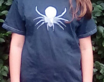 Spider T-shirt, Spider Print Clothing, Spider Gift, Gifts for Children, Gift for Boys, Gift for Girls
