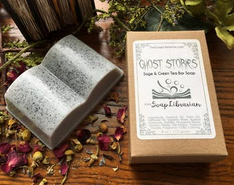 Ghost Stories Bar Soap - Reader Gift - Handcrafted Bar Soap
