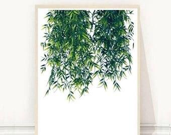 Botanical Print, Botanical Poster, Botanical Wall Art, Minimalist Art,  Printable Art,  Instant Download, Wall Decor