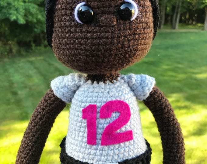 Featured listing image: African American Crochet Doll-boy