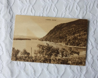 Camden Maine Postcard, Published by S W Hastings