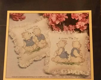 Sunset Counted Cross Stitch Kit #2999 Loves Me--Loves Me Not by Barbara Yates
