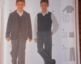 Big Boys Formal Wear / Dress-up Sewing Patterns, NOS  Sizes 10-15