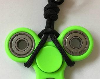 Custom Paracord Fidget Spinner Keychain