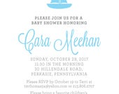 Custom Order // Cara Meehan Baby Shower Invites
