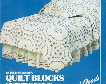 Vogart Stamped Quilt Blocks For Embroidery FREE SHIPPING 6 : stamped quilt blocks - Adamdwight.com