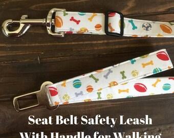 Seatbelt leash, seat belt leash, adjustable dog leash, adjustable leash, safety leash, safety belt dog leash, seat belt dog leash, seatbelt