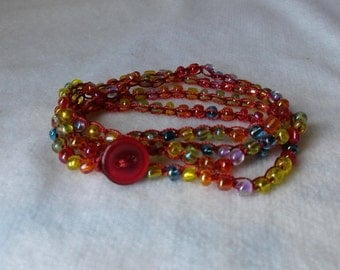 Autism Awareness Wrap Bracelet