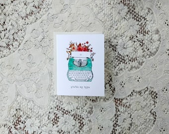 You're My Type / Typewriter Card / Love Card / Typewriter / Pun Cards / For Wife / For Girlfriend / Vintage Card / For Her / For Friend