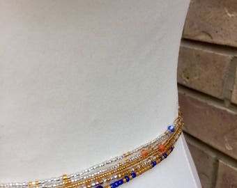 African Waist beads, 5 X  Waist beads , Jewelry making