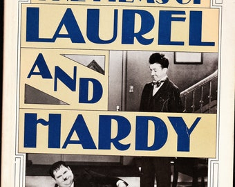 """Book-""""The Films of Laurel and Hardy"""" 1967"""