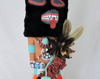 Traditional Style Hopi Wolf Kachina Kweo