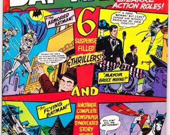 Batman and Robin 193 comic, Joker, Catwoman, 80 Page Giant, Silver Age, Vintage art, Superhero book. 1967 DC Comics in VF+ (8.5)