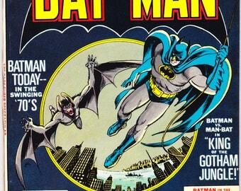 Batman 254, Man-Bat, Robin, Gotham Comic, 100 Page Giant Book, Bronze Age art. 1974 DC Comics in VFNM (9.0)