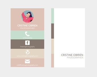 Business Card Template | Printable Business Card Design, Business Card Template, Custom Business Card, Photoshop, Psd Business Card Design
