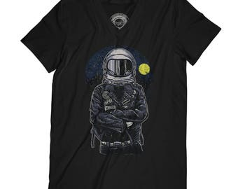 Astronaut t-shirt fathers day shirt nasa shirt space t-shirt grunge t-shirt hipster shirt galaxy t-shirt husband gift  AP57