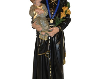 Antique Plaster Statue of Saint Gerard Majella, Patron Saint of  Mothers #8899