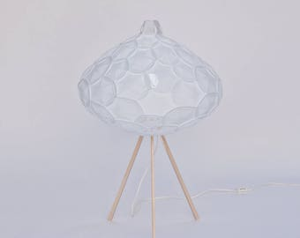 Elegant White Cloud Table Lamp | Airy M