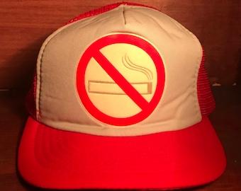 No Smoking  Logo Snapback Hat