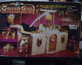 "Golden Girl Galoob He-Man She-Ra ""Palace of Gems"" 100% COMPLETE NEW MOTU Boxed Vintage Item!"