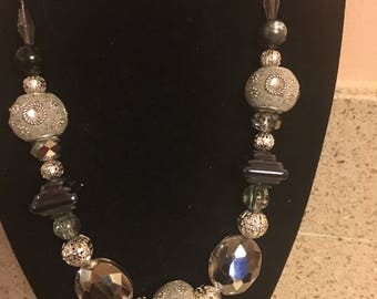 Handmade Chunky Short Necklace