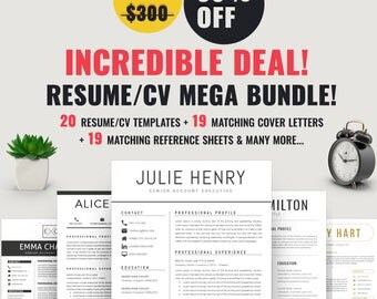 resume downloadable templates