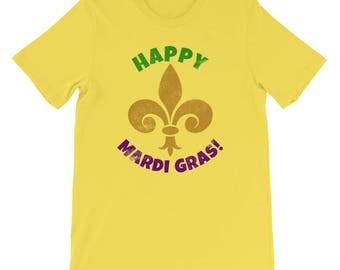Mardi Gras with Fleur De Lis