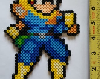 CAPTAIN FALCON Smash Brothers/ F-Zero Bead Sprite + Lanyard