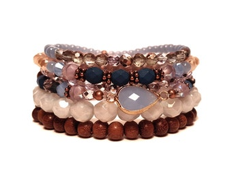 Bluesy Bracelet Stack