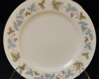 """Fine China of Japan Vintage Bread Plate 6 1/2"""" 6701 EXCELLENT!"""