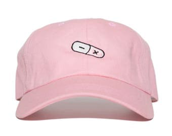 Research and Development dad hat (pink)