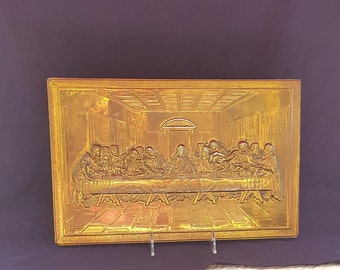 Brass Wall Hanging The Last Supper