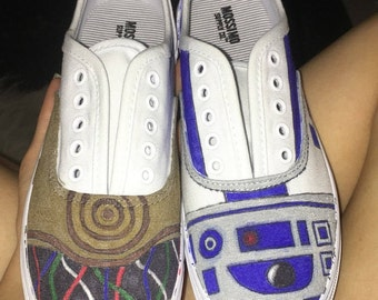 Decorated Canvas Shoes