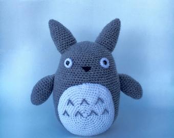 Grey TOTORO crochet