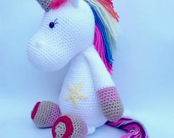 The Unicorn crochet LILY