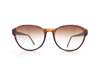 Genuine 1980s Haute Couture3004 Col 630Vintage Sunglasses // Made in France // New Old Stock