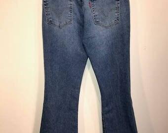 Vintage 90's Levi's 518 Superlow Bootcut Jeans