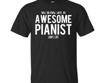Pianist Shirt, Pianist Gifts, Pianist, Awesome Pianist, Gifts For Pianist, Pianist Tshirt, Funny Gift For Pianist, Pianist Gift