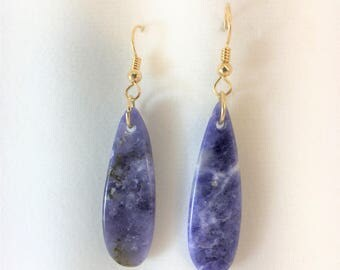 Earrings - Scapolite