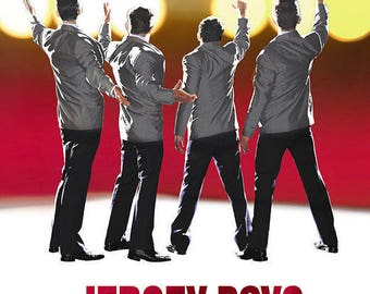 Jersey Boys Musical Theater Poster A3 or A4 Matt