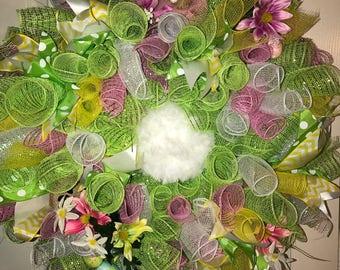 "The ""Easter Bunny"" Wreath"