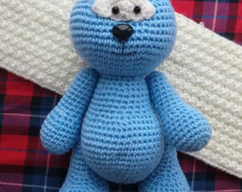 Cute Bear - amigurumi crochet toy