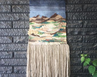 Custom Tapestry Weaving—One of a Kind Design