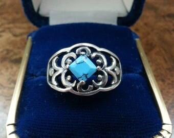 Vintage Sterling Silver Ring - Size 11