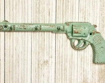 Key Holder, Kitchen Wall Decor, Gun Decor, Gun Gift, Key Holder Wall, Wall Key Holder, Wall Decor, Home Decor, Gun Key Hook, Wedding Gift