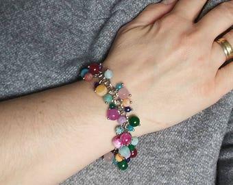 Bracelet, chic bracelet, all gone bracelet, gemstone bracelet, natural stone bracelets, fine jewelery