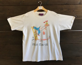 Vintage 90s Mr. Fix-it Tee